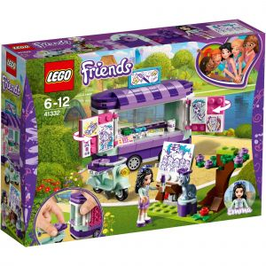 Lego 41332 - Friends : Le stand d'art d'Emma