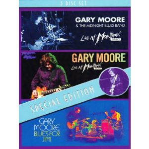 Gary Moore : Live at Montreux 1990 - Live at Montreux 2010 - Blues for Jimmy