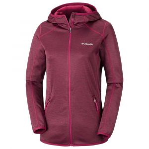 Columbia Polaires Sapphire Trail Hooded Full Zip - Pomegranate - Taille XL