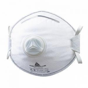 Venitex Demi-masques jetables moulés FFP1 avec valve - DELTA PLUS