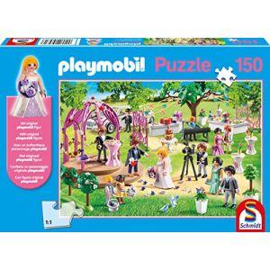 Schmidt Puzzle 56271 Playmobil, Mariage, 150 pièces