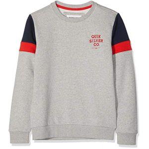 Quiksilver Kumano Kodo - Sweatshirt pour Garçon 8-16 ans - Gris