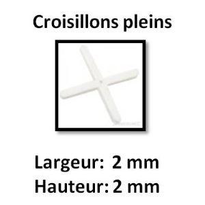 Image de Far Tools 113884 - 250 croisillons pleins (largeur 2 mm / hauteur 2 mm)