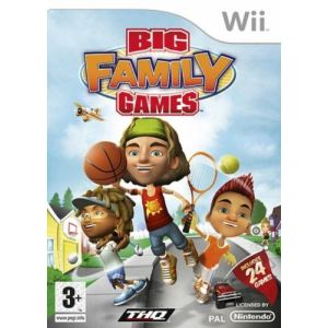 Big Family Games [Wii]