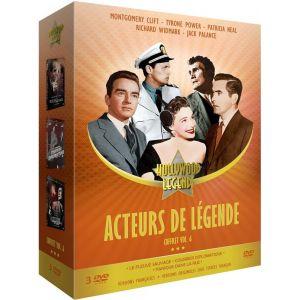 Acteurs de légende Vol. 6 : Le Fleuve sauvage + Courrier diplomatique + Panique dans la rue