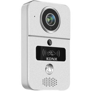 Konx Portier audio et vidéo 720p Wi-Fi détecteur de mouvement lecteur RFID