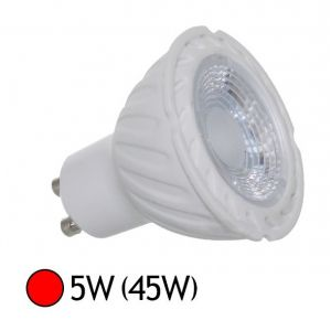 Vision-El Spot Led 5W (45W) GU10 Angle 38° Eclairage rouge -