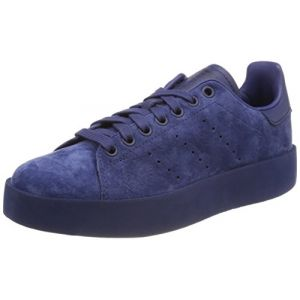 Adidas Stan Smith Bold, Baskets Femme, Bleu Noble Indigo 0, 36 2/3 EU