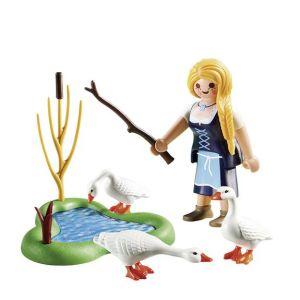 Playmobil Easter Eggs 70083 Jeune fille avec oies