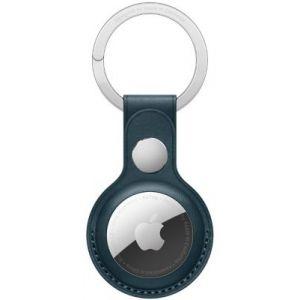 Apple Porte-clés AirTag porte-clés Cuir bleu