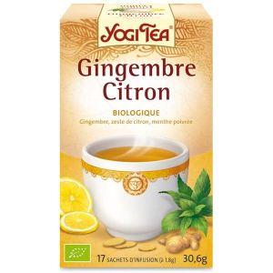 Yogi Tea Gingembre Citron - Tisane ayurvédique Bio