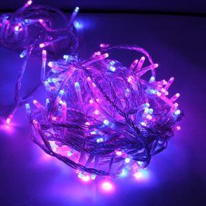 Blachère illumination Guirlande flicker 128 LED fil vert (8m)