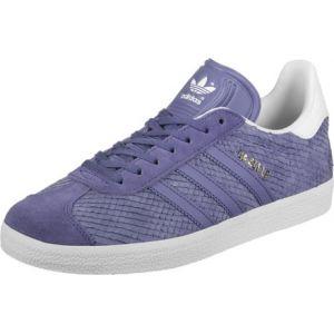 Adidas Gazelle, Baskets Basses Femme, Violet (Super Purple/Super Purple/Off White), 37 1/3 EU
