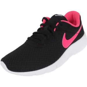 Nike Tanjun (GS), Baskets Fille, Noir (Black/Hyper Pink-White), 36.5 EU