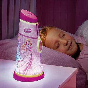 Worlds Apart Veilleuse et lampe torche Go Glow Disney Princesse pour fille