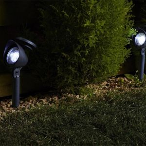 Smart solar Pack de 4 spot Prima solaires LED