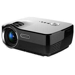 Yonis Vidéoprojecteur LED Full HD 1080p Home Cinéma 1200 Lumens HDMi SD USB