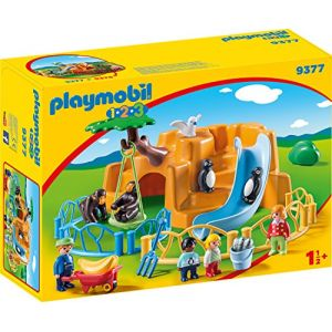 Playmobil 9377 - 1.2.3 : Parc animalier