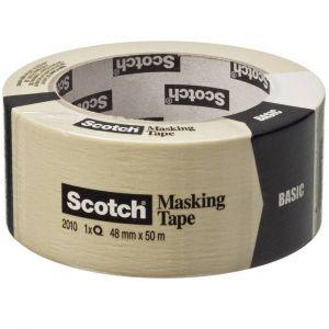 3M Ruban de masquage Scotch 3 00059914 beige (L x l) 50 m x 48 mm 1 rouleau(x)
