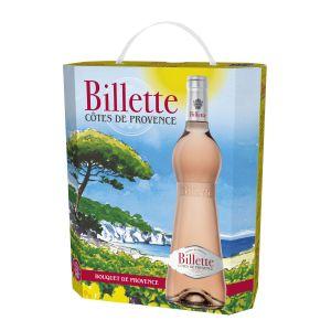 BIB Billette Tradition Rosé AOC Côtes de Provence Vin rosé