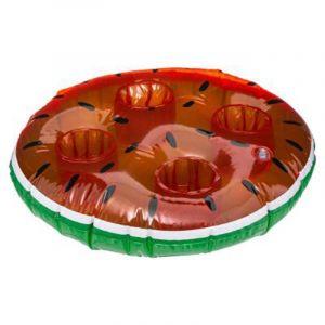 Intex Bar gonflable pour piscine Pastèque - Diam. 45 cm - Rouge