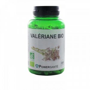 Powersanté Valériane bio - 200 gélules végétales