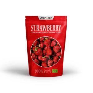 Organica Crunchy Fruits Fraise 12g