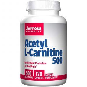 Jarrow formulas Acétyl L-Carnitine 500, 500 mg (120 Capsules)