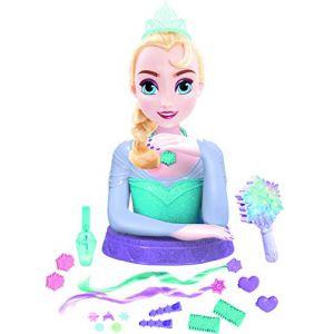 IMC Toys Tête à coiffer de luxe musicale Elsa La Reine des Neiges
