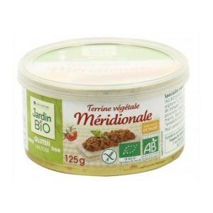 Jardin Bio Terrine végétale méridionale sans gluten (125 g)