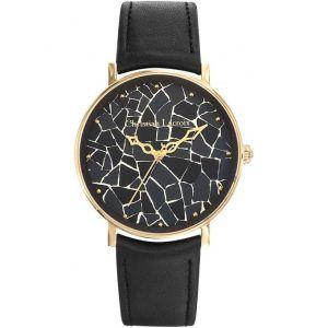 Christian Lacroix 8010404 - Montre pour femme avec bracelet en cuir