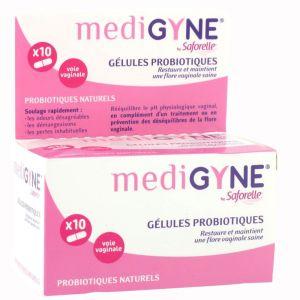 Saforelle Médigyne gélules probiotiques