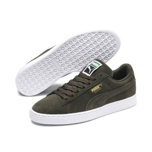 Puma Suede Classic +, Sneakers Basses Homme - Gris (Forest Night-White 65), 45 EU