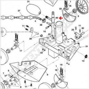 Procopi 1001043 - Té de réparation Polaris 180