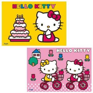 Ravensburger Puzzle 2 x 12 pièces : Hello Kitty fête son anniversaire