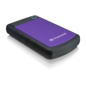 """Transcend TS3TSJ25H3P - Disque dur externe StoreJet 25H3P 3 To 2.5"""" USB 3.0"""