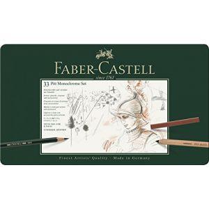 Faber-Castell Set Pitt Monochrome pro 31 pièces