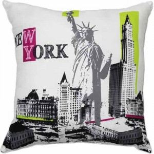 Coussin New York City (40 x 40 cm) - Comparer