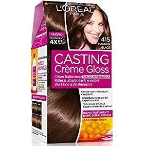 L'Oréal Casting Crème Gloss, Colorazione Senza Ammoniaca, 415 Marron Glacé