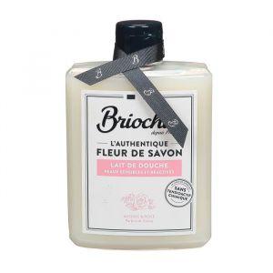 Briochin Fleur de savon - Lait de douche avoine et rose