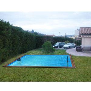 piscine carree bois comparer 94 offres. Black Bedroom Furniture Sets. Home Design Ideas