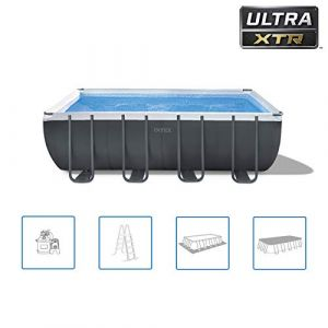 Intex Piscine tubulaire Ultra XTR Frame rectangulaire 5,49 x 2,74 x 1,32 m