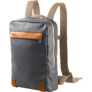 Brooks England - Pickzip Canvas Backpack Small 10 - Sac à dos journée taille 10 l, gris/noir