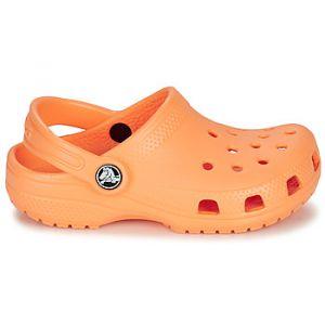 Crocs Sabots enfant CLASSIC CLOG K Orange - Taille 34 / 35