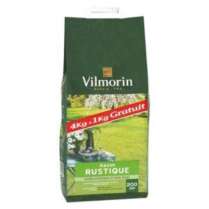 Vilmorin Gazon rustique sac de 5 kgs ( 4kgs 1 gratuit )