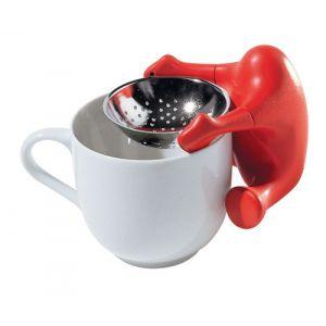Alessi Passoire à thé avec filtre en inox