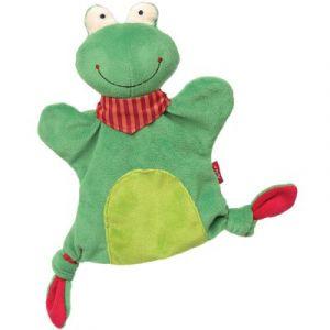 Sigikid Doudou marionnette grenouille (23 cm)