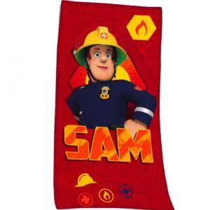Herding Serviette de plage Sam le pompier