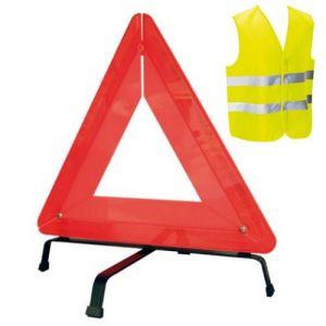 Carpoint Triangle De Pré-Signalisation - Kit Sécurité Routière