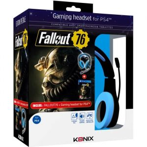 Konix Micro-casque gaming PS400 + Fallout 76 PS4